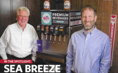 Sea Breeze Syrups on the cover of Risk & Business Magazine